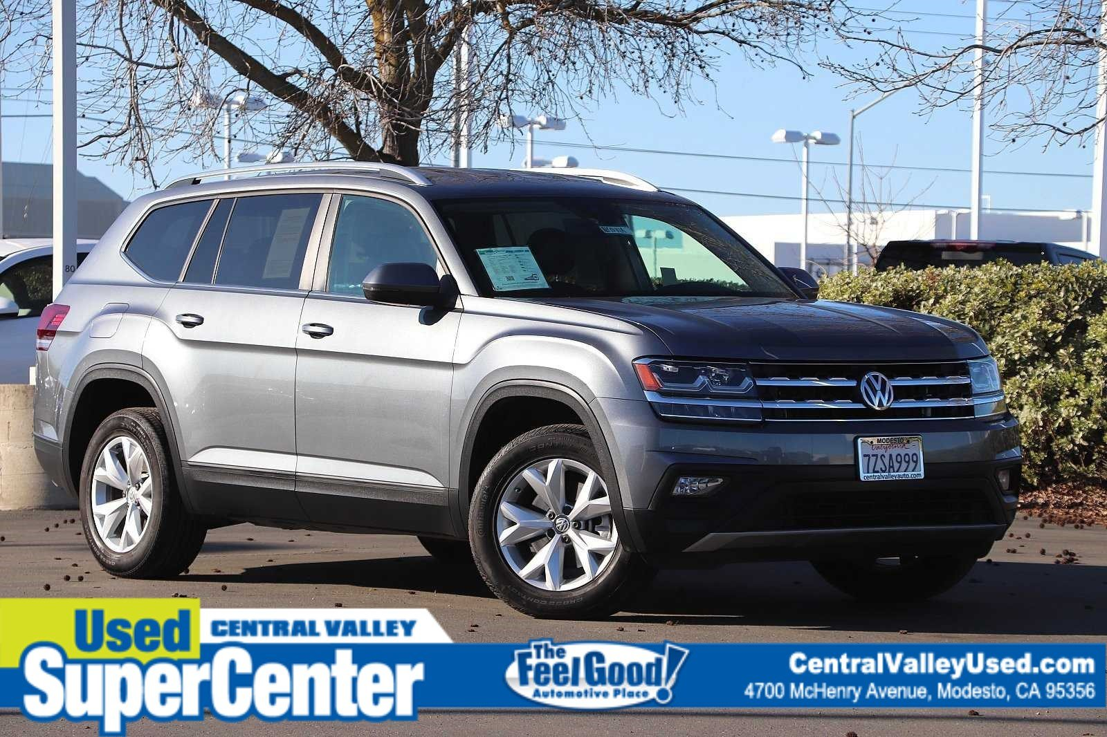 Pre-Owned 2018 Volkswagen Atlas 3.6L V6 SE with Technology