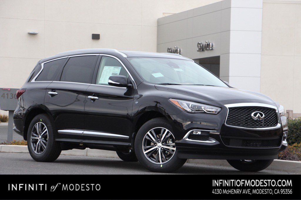 <center>NEW<br>2019 INFINITI QX60<br>LUXE AWD<br>WITH NAVIGATION</center>