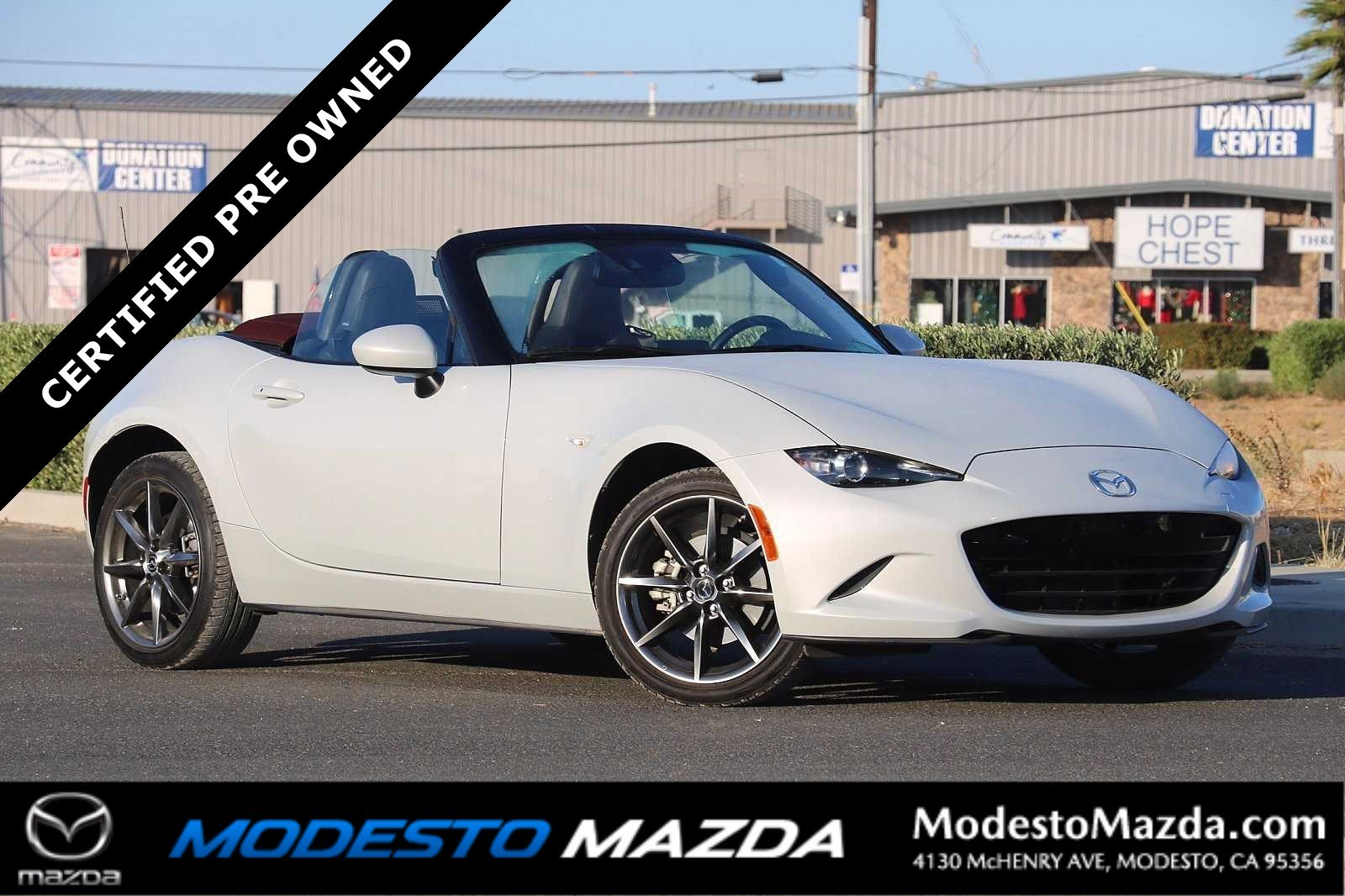 Pre-Owned 2018 Mazda MX-5 Miata Grand Touring