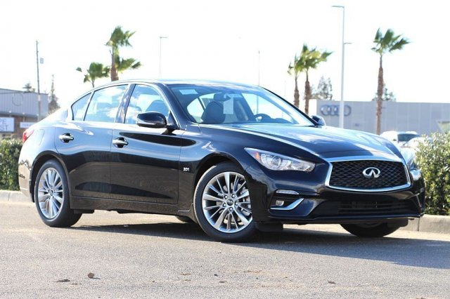<center>NEW<br>2019 INFINITI Q50<br>3.0t LUXE<br>WITH NAVIGATION</center>