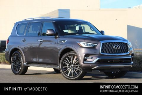 אדיר New INFINITI QX80 SUV For Sale in Modesto | INFINITI of Modesto OL-09