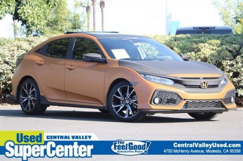 Pre-Owned 2019 Honda Civic Hatchback Sport Touring